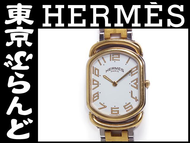 エルメス ラリー レディース腕時計 コンビ Qz 2