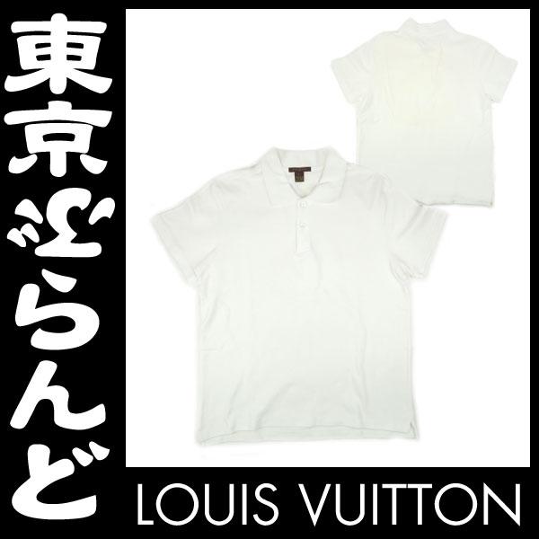 ルイ・ヴィトン 半袖ポロシャツ 白 メンズ L 2 apm