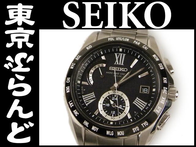 セイコー ブライツ SAGA089 メンズ腕時計 ソーラー5