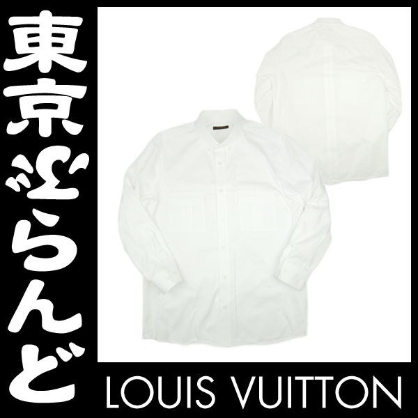 ルイ・ヴィトン メンズYシャツボタンダウンシャツ1 apm