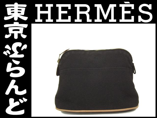 エルメス ボリード ポーチ PM 黒 小物 HERMES 1