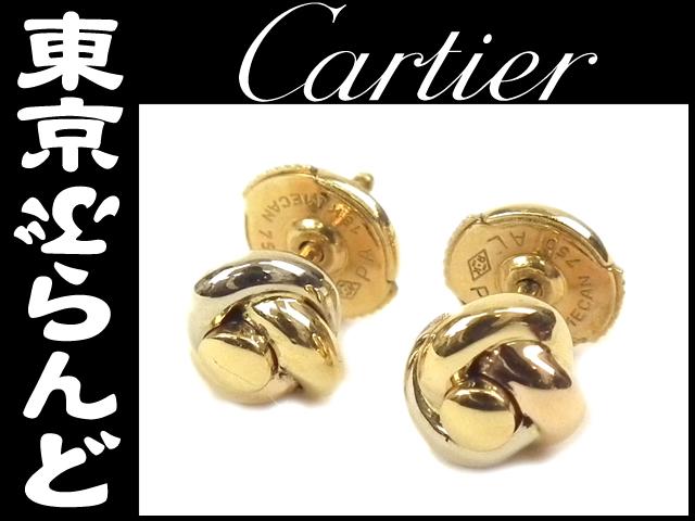 カルティエ(Cartier)トリニティ ピアス K18