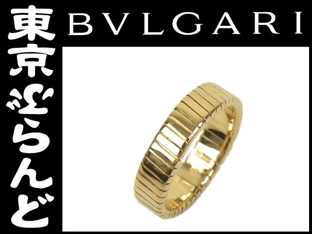ブルガリ トゥボガス K18YG リング 指輪 3