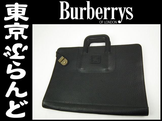 バーバリーズ ビジネスバッグ ブリーフケース 黒 1