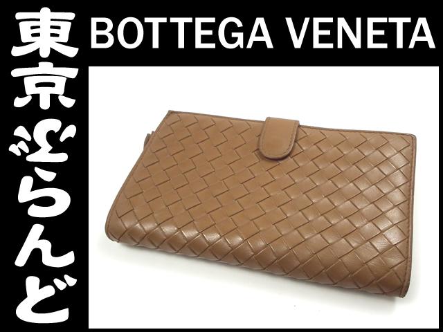 finest selection bbbe4 e8afd ボッテガ・ヴェネタ(BOTTEGA VENETA) 二つ折り長財布 114074の ...