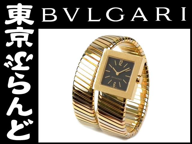 ブルガリトゥボガススネークYGWGPGレディース腕時計PW