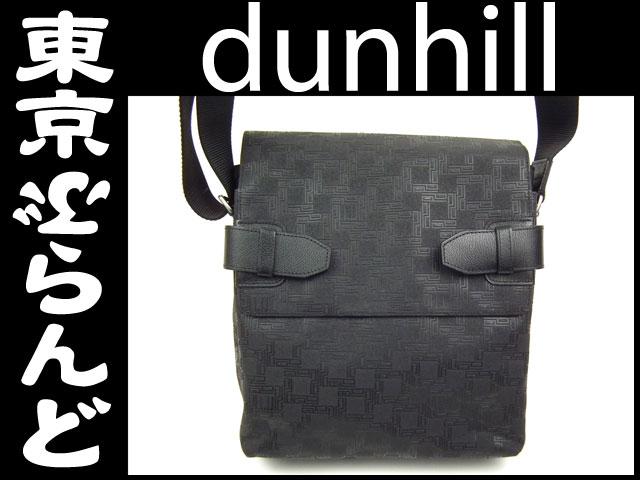 ダンヒル PVC ショルダーバッグ 黒 ブラック 1