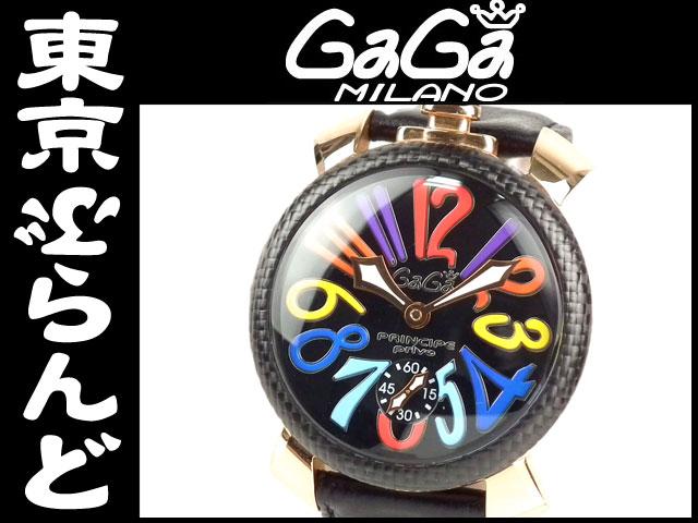 ガガミラノマヌアーレ48手巻腕時計5511.1限定8