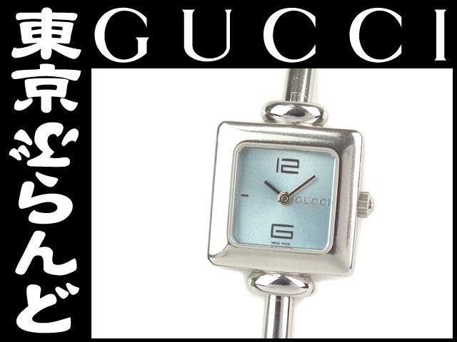 グッチ レディース 腕時計 1900L シェル 青文字盤 1