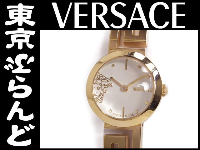 ヴェルサーチ レディース腕時計 QZ ゴールド 3