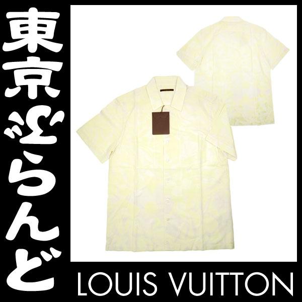 ヴィトン メンズシャツ カジュアル フラワーXL 3 apm