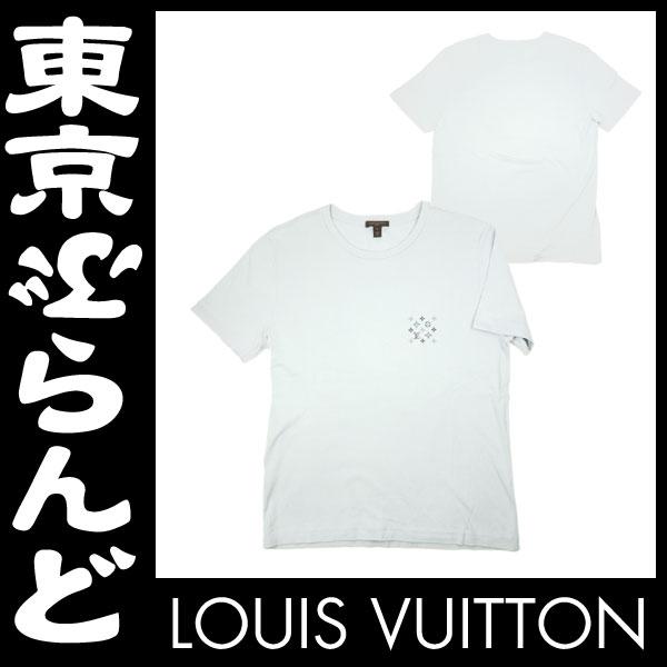ルイ・ヴィトン メンズ 半袖 Tシャツ L グレー 2 apm