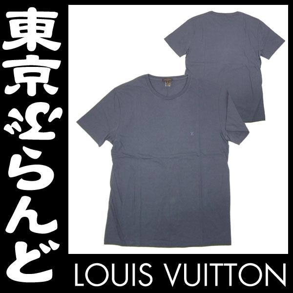 ルイ・ヴィトン メンズ 半袖 Tシャツ XL グレー 1 apm