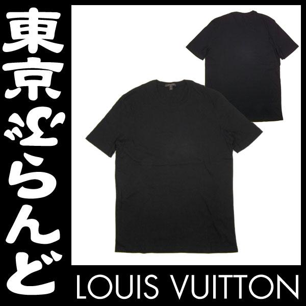 ルイ・ヴィトン メンズ 半袖 Tシャツ XL 黒 1 apm