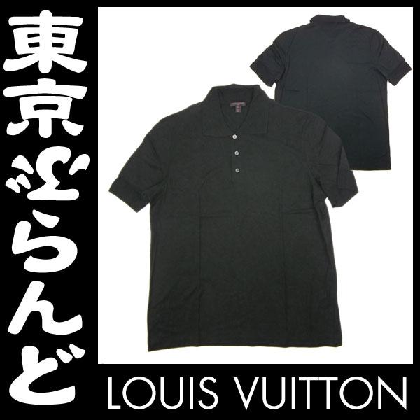 ヴィトン 半袖ポロシャツ XL ブラック 未使用 3 apm