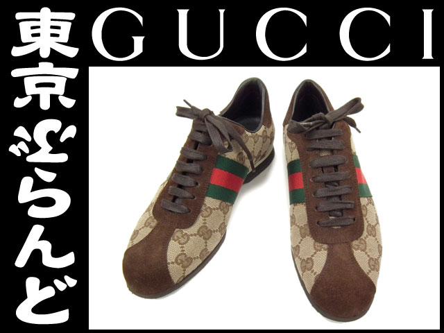 グッチ GGスニーカー 靴 レディース #35 1/2 2