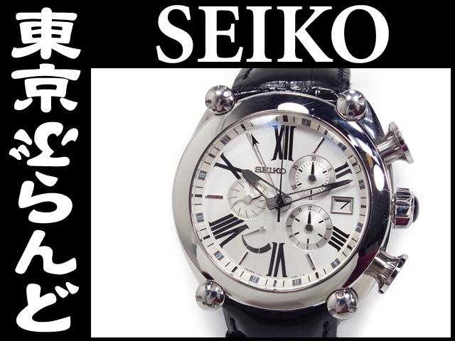 セイコー ガランテクロノ SBLA025 腕時計 PW 10