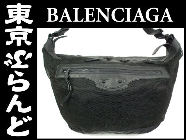 バレンシアガ ザ・クーリエ ショルダーバッグ 黒 4