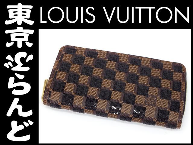 designer fashion f96fb 0535b ルイ・ヴィトン(LOUIS VUITTON) ダミエ ジッピーウォレット 長 ...