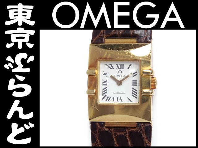 オメガ コンステレーションクアドラ YG 腕時計9