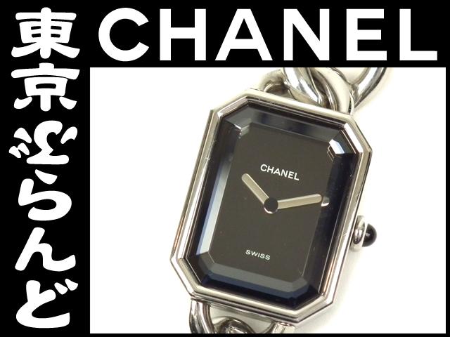 シャネル プルミエール XL シルバー 腕時計 8