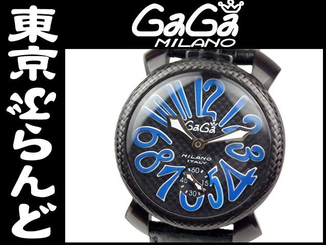 ガガミラノマヌアーレ48手巻腕時計5016.7限定6