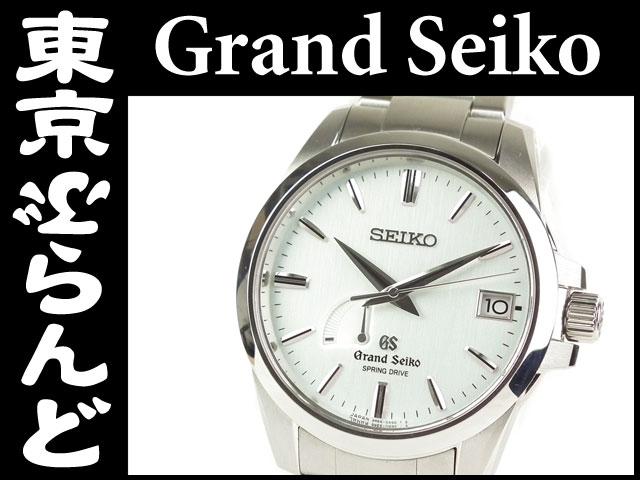グランドセイコー SBGA015 メンズ腕時計 ブルー PW