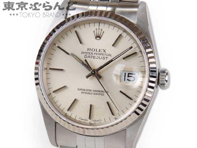 ロレックス デイトジャスト 16234 S番 腕時計