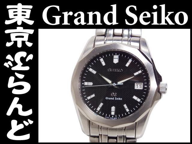 グランドセイコー 紳士時計8J56-8000Qzイニシャル入