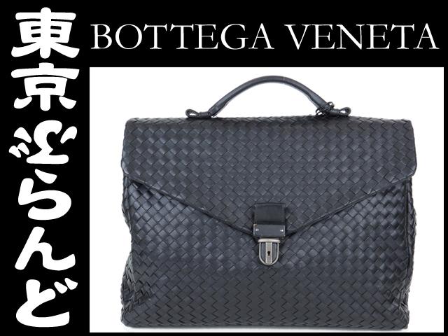 ボッテガヴェネタ ビジネスバッグ イントレ 黒 9