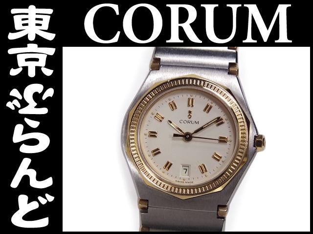 コルム アドミラルズカップレディース腕時計 YG/SS