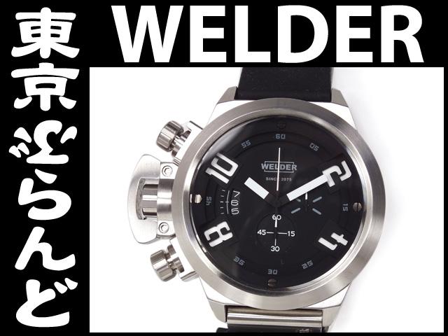 ウェルダー メンズ腕時計 W3200 K24 SSラバー Qz 2