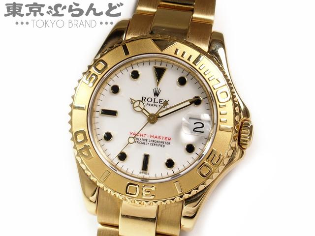 ロレックス ヨットマスターYG 68628U番ボーイズ時計LW