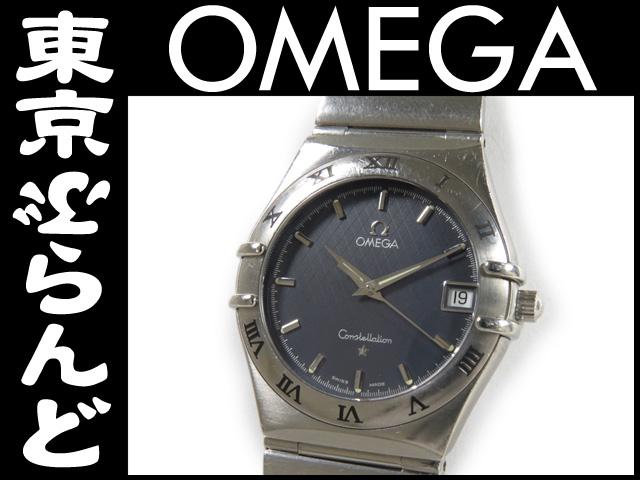 オメガ コンステレーション デイト メンズ腕時計 Qz