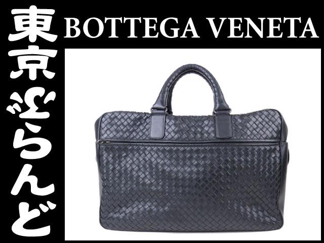 ボッテガヴェネタ ビジネスバッグ イントレ 黒 PH