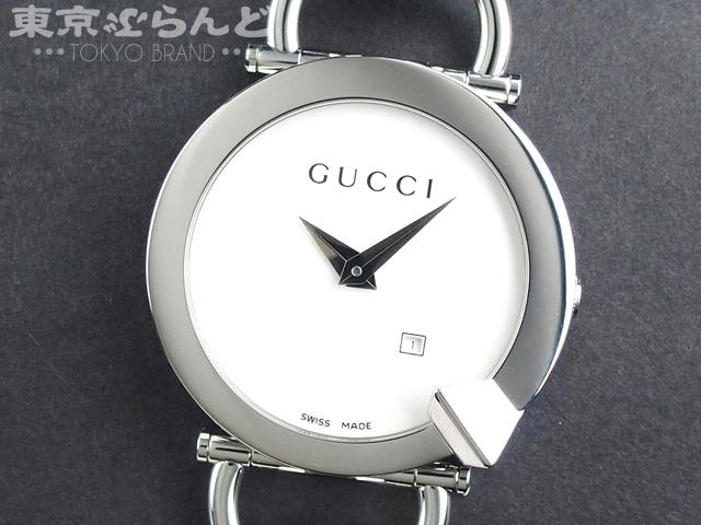 グッチ キオド レディース腕時計 122.5 シルバー QZ