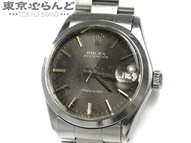 1円 ロレックスオイスターデイト6466ボーイズジャンク