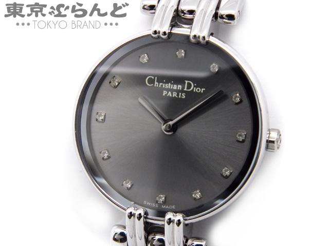 ディオール バギラ レディース腕時計 12Pダイヤ Qz