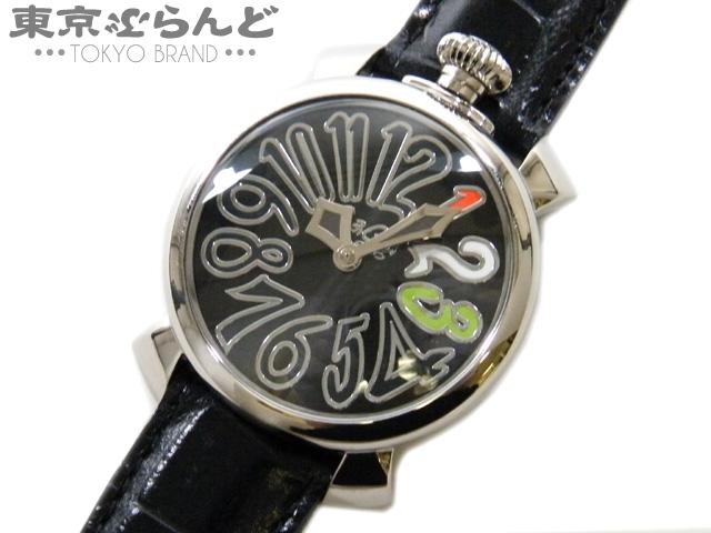 ガガミラノ マヌアーレ40 ボーイズ腕時計QZ 限定品