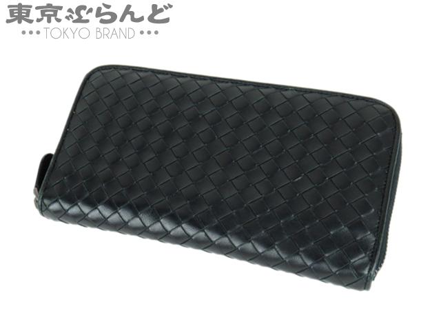ボッテガ 長財布 イントレチャート ブラック 黒 3