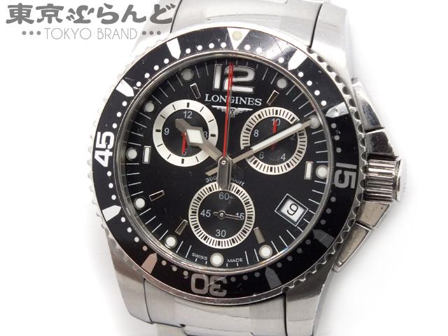 ロンジン ハイドロコンクエスト メンズ腕時計Qz