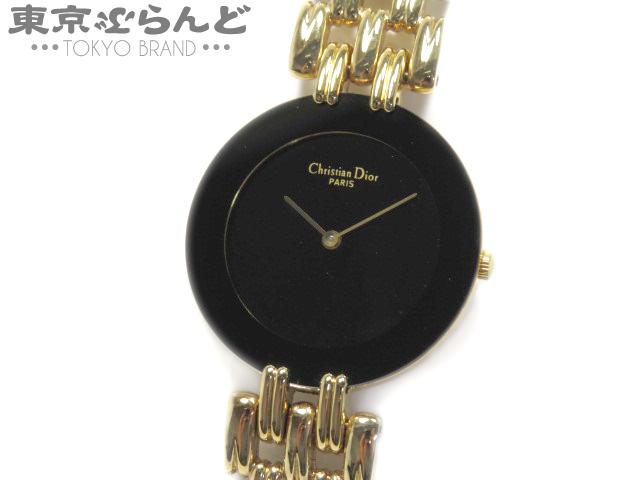 ディオール バギラ メンズ腕時計 Qz ゴールド