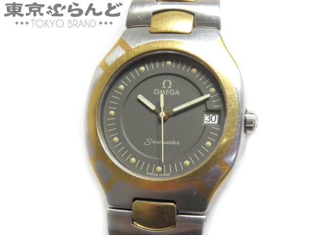 1円 オメガ シーマスターポラリス ボーイズ腕時計 QZ