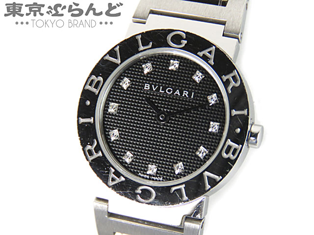 ブルガリブルガリ BB26SS 12Pダイヤ 腕時計 QZ 新型