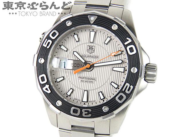 タグホイヤー アクアレーサー500Mメンズ腕時計QZ8