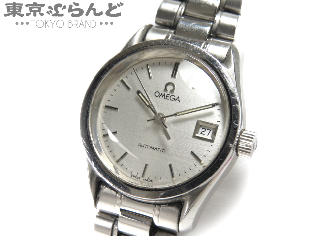 1円 オメガ レディース腕時計 デイト クラシックAT