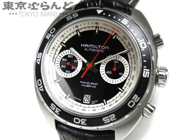 1円 ハミルトン パンユーロ 腕時計 H357560 AT