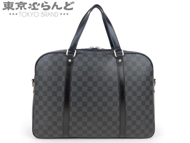 1円 ヴィトンダミエグラフィットヨーンビジネスバッグ