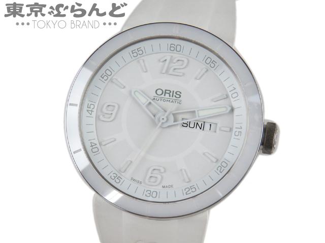 オリス TT1 デイデイト メンズ腕時計 AT 7651 白 6