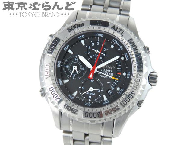 1円セイコーランドマスターサミッターメンズ腕時計